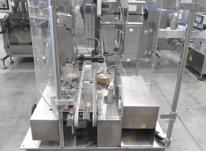 Corima (Marchesini-Group) EF02 Self-Adhesive Top Labeller (vignettes, bolini) for cartons etc.