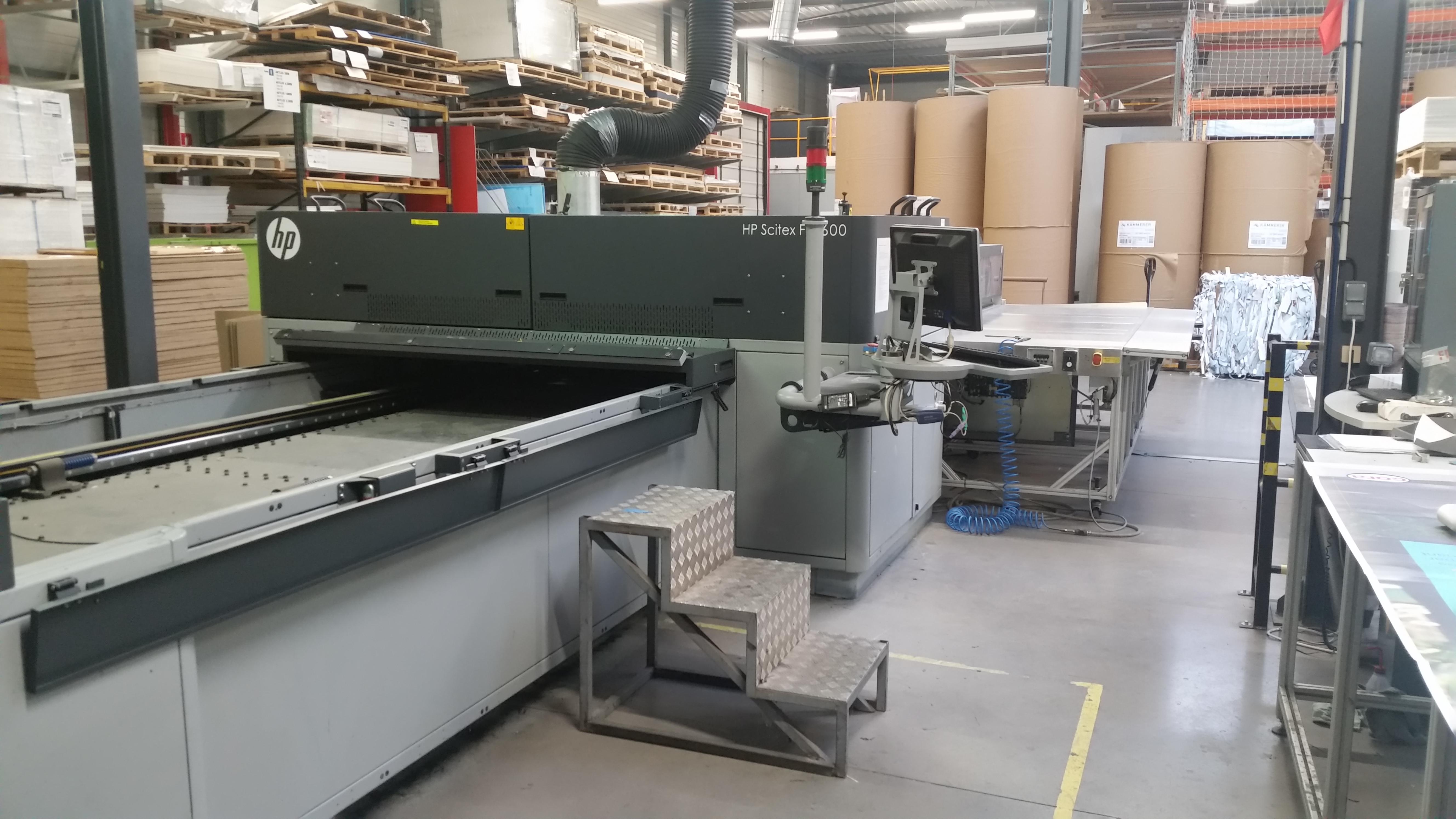 Hp Scitex FB 7600 Digital press - Exapro