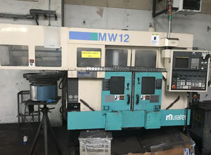 Used MURATEC MW 12 CNC Multispindle automatic lathe