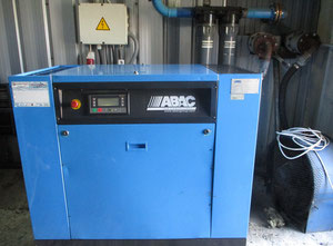 Abac S20-2 Oiled screw compressor