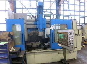 Jungenthal DKE 800 S vertical turret lathe with cnc