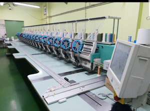 Tajima TFGN 1218 Embroidery machine