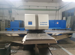 Trumpf TC600L Combining machine laser / punch