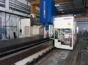 FOREST LINE SERAMILL 260 G : 5-FACE  CNC Gantry Mill