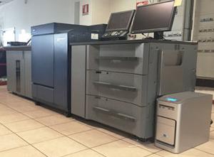 Digitální tiskový stroj Konica Minolta C1100