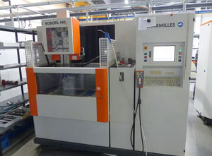 Used wire cutting EDM machine - Exapro