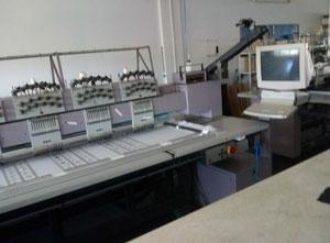 ZSK MSCA Многоголовочная вышивальная машина