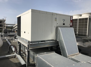 Reversible air conditioning unit ROOFTOP - 24 Kw - BAH024SNM3M