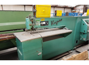 Kuper FW 1150 Veneer jointing machine for longitudinal passage
