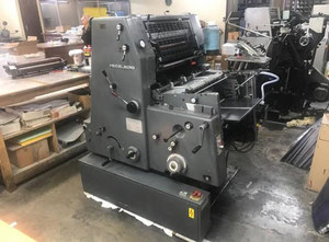 Heidelberg GTO 52 + Offset one colour