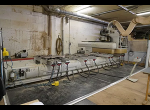 Busellato 4axes Wood CNC machining centre
