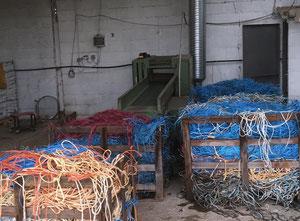 Macchina di riciclaggio di plastica PIERRET -