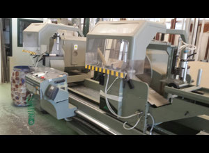 Used Emmegi Twin Electra 550 Slitting saw for metal
