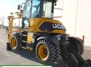 Pelleteuse / Bouteur / Chargeuse JCB HD 110WTT4F Hydradig 4x4x4
