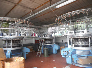 5 Jumberga TL J 6 E Circular knitting machine