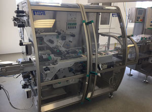 Neri BLB 400 V2T labeller for top and bottom labelling of cartons