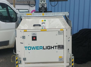 Generac CUBE + towerlight LED tower come nuova.