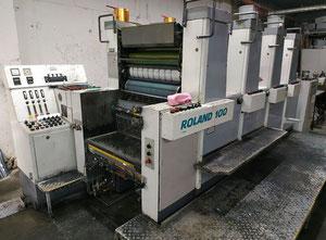 Man Roland R104 T01 4 Farben Offsetdruckmaschine