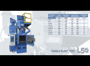 C.M Surface Treatment Spa T5/T10/L50/L65 BLASTING MACHINES