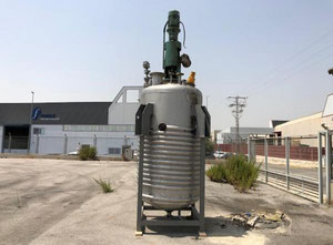 Edelstahl-Dampfreaktor mit einer Rührkapazität von 3.000 Litern