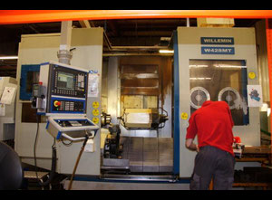 Torno cnc Willemin Macodel W-428MT-VIDEO!