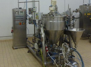 Used homogenizer and mixer for liquid and cream for sale