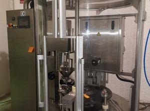 Maszyna do napełniania i zamykania kapsułek SKP1N Nespresso z generatorem azotu, śrubowa sprężarka powietrza i zbiornik powietrza