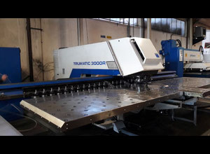 Used Trumpf TC 3000 R CNC punching machine