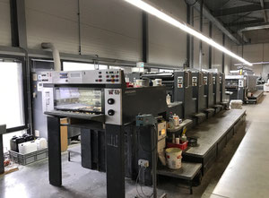 Heidelberg SM 74-5 P3 H Offset five colours