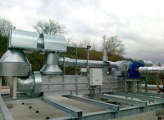Filtrační Technika Company Recuperative Catalytic Oxidizer P90726034