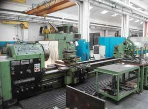 Used TOS SUI 125H/6000 heavy duty lathe
