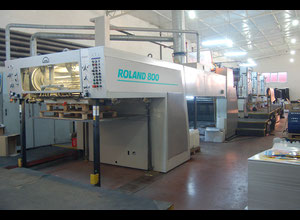 Offset seis colores Man Roland 806 6+1 (UV-LAK)