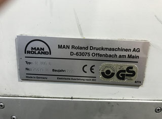 Man Roland 806 6+1 (UV-LAK) P90802026