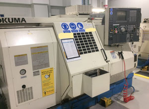 Okuma LT-10 Twin Spindle, Twin Turret CnC Lathe