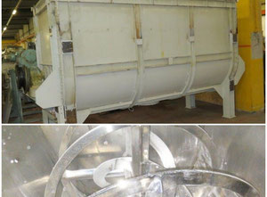 Stainless steel belt mixer with capacity of 7000 liters DMN Westinghouse AL250-3NMZ