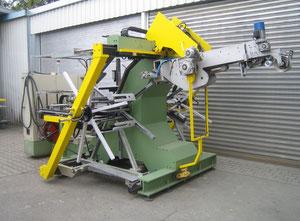 Máquina de plástico Bobina doble totalmente automática Mazzoni Leopard 1650