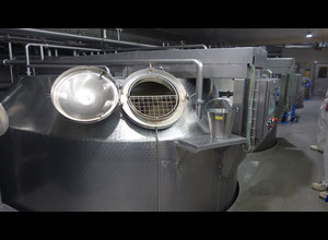 Schwarte 12000l Cheese production, Cheese maker closed Execution rind
