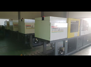 Inyectora de plástico completamente eléctrica Fanuc ROBOTSHOT S2000 i 100A