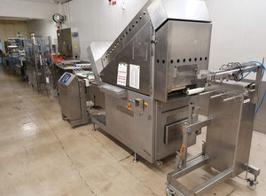 Slicing/Packaging line CFS Nova/Pacproinc PPI-200/MULTIVAC R 240