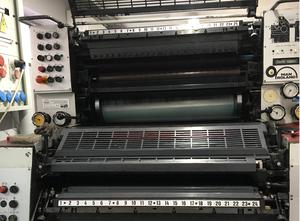 Ofsetový dvoubarevný stroj Man Roland TOB 202