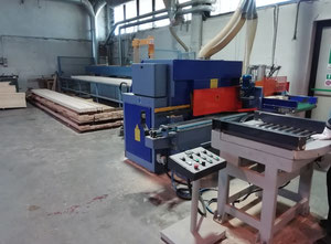 Used Paoletti 150 Finger Joint machine