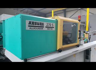 Arburg 270S-500-150 + Picker P90813006