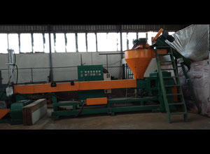 Plastic Recycling Machine plant double degassing