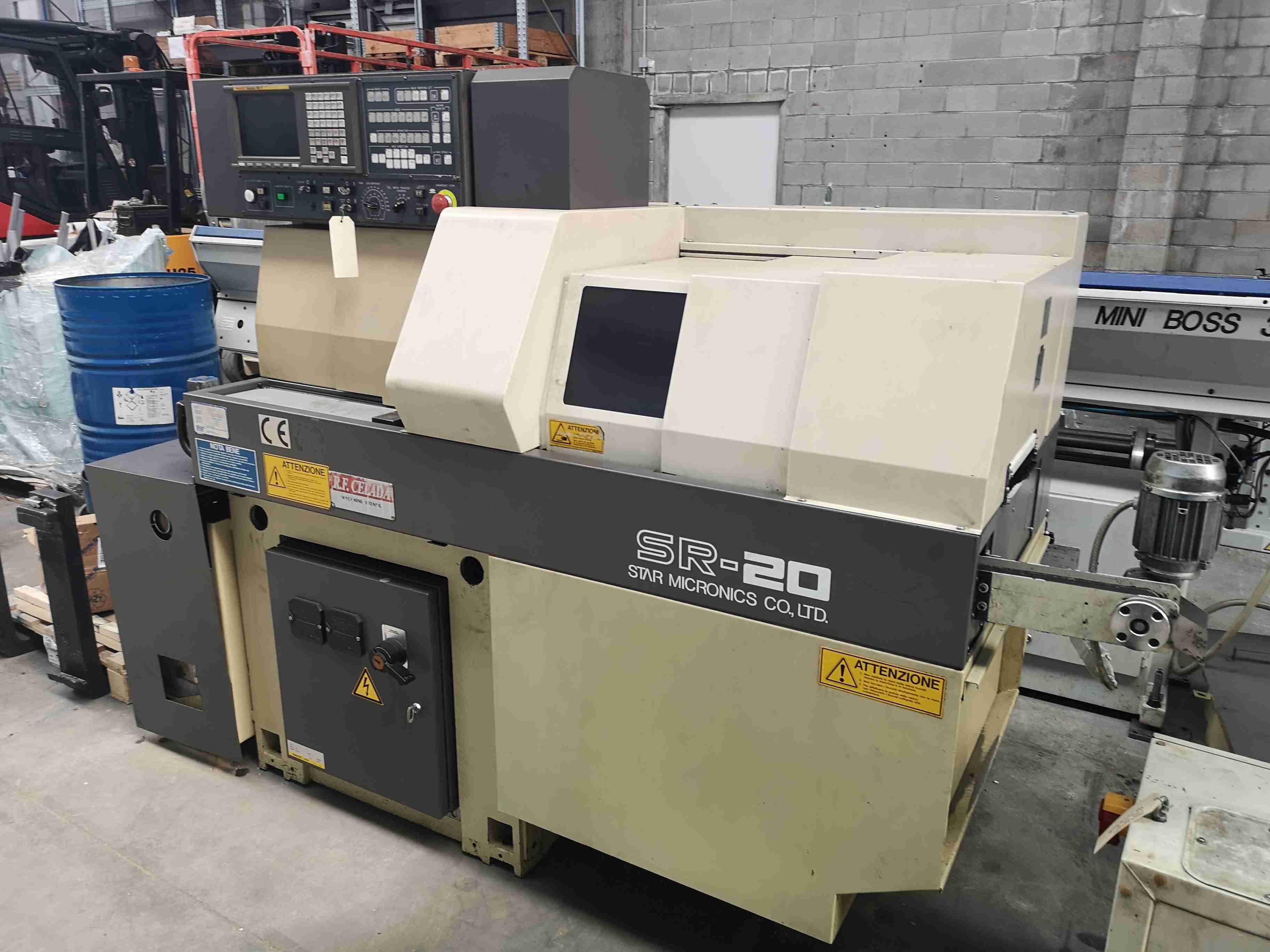 Used Star SR 20 Swiss type lathe Used machines - Exapro