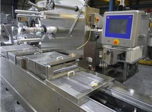 Compact Tiromat compact cfs 680 Thermoforming - Form, Fill and Seal Line