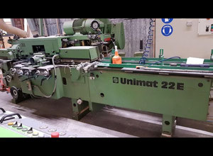 Weinig Unimat 22E 4 sided multi spindle planer
