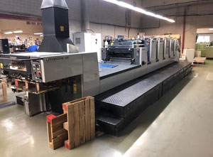 Offset cinco colores Komori Lithrone  L528+C ES