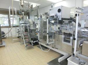 Uhlmann, Blisterlinie, Blistermaschine UPS 4, Kartonierer Uhlmann UPS C100