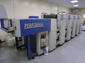 Used KBA Performa 74-4 Offset four colours