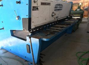 Cizalla guillotina hidráulica BBB Ferry - BRG 3100 x 12 mm